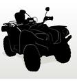 ATV vector image vector image