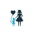 child colorful icon symbol premium quality vector image