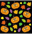 halloween background 2 vector image vector image