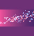 modern abstract background template with vector image vector image