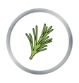 Rosemary icon in cartoon style isolated on white vector image vector image