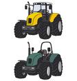 Tractors vector image vector image
