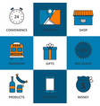 stock linear icon store vector image