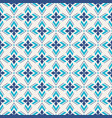 abstract geometric seamless pattern regularly vector image vector image