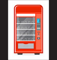 automatic vending machine icon vector image vector image
