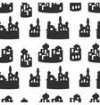 desert houses pattern vector image