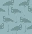 elegant seamless pattern with flamingos beautiful vector image vector image