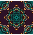 Luxury Damask seamless motif pattern vector image vector image