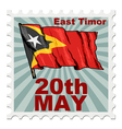 national day of East Timor vector image vector image
