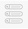Steps infographic design elements thin contour