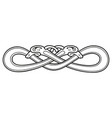 celtic national drawing vector image vector image