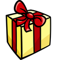 christmas or birthday gift clip art vector image vector image