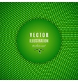 Green abstract background Green digital background vector image vector image