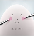 Mister Easter vector image vector image