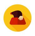 mole icon for garden craft vector image