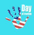 day of slavery abolition vector image