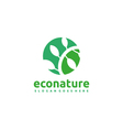 Eco Nature Logo vector image