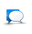 messenger window icon vector image vector image