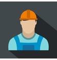 Oilman flat icon vector image