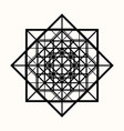 sacred geometry 0082 vector image vector image