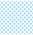 seamless pattern with cute tile blue polka dots on vector image vector image