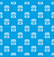 street kiosk pattern seamless blue vector image vector image