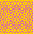 tile yellow and pink pattern vector image