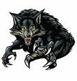 Werewolf Character Design vector image vector image