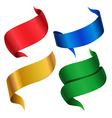 ribbon color vector image