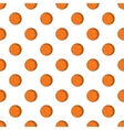 Basketball ball pattern cartoon style vector image