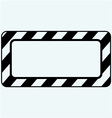 Blank frame vector image vector image
