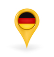 Location Germany vector image