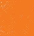 orange grunge background vector image vector image