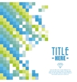 Pixel icon Cover background graphic vector image vector image