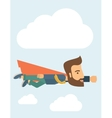 Super businessman vector image vector image
