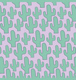 cactus plant background vector image