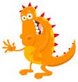 fantasy monster cartoon vector image