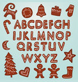 gingerbread cookies clipart vector image vector image