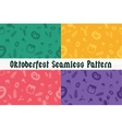 Holiday Oktoberfest Seamless Pattern vector image