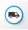 lorry icon symbol premium quality isolated truck vector image vector image