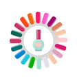 nail polish and service poster vector image