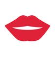 sexy women lips vector image vector image