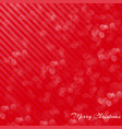 background red card for christmas happiness vector image vector image