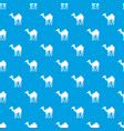 camel pattern seamless blue vector image vector image