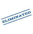 Eliminated Watermark Stamp vector image vector image