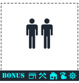 Gay icon flat vector image vector image