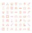 house icons vector image vector image
