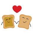 image bread love or color vector image vector image