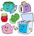kitchen cartoons vector image