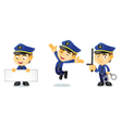 Policeman 1 vector image vector image